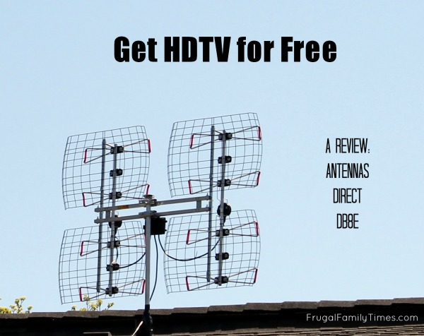 More TV Channels - No Monthly Bill (Review: Antennas Direct DB8e