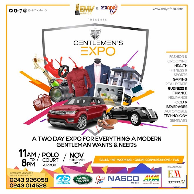 Gentlemen Expo set for November 11 -12