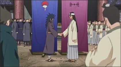 ตระกูลเซนจูจับมืออุจิวะสร้างหมู่บ้านโคโนฮะ