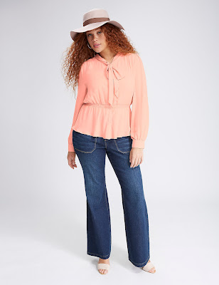 blusas de vestir para gorditas