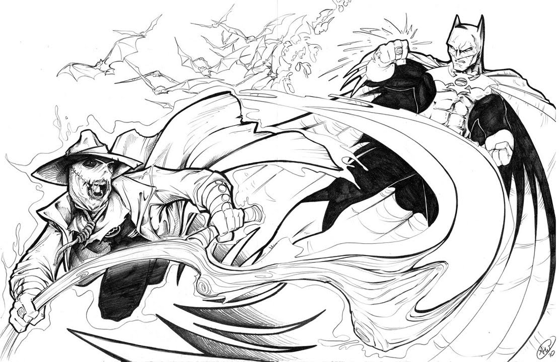 Randomsuperthing: Sinestro Corps Scarecrow, Green Lantern