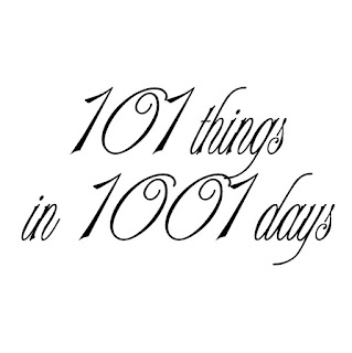 101 things in 1001 days.