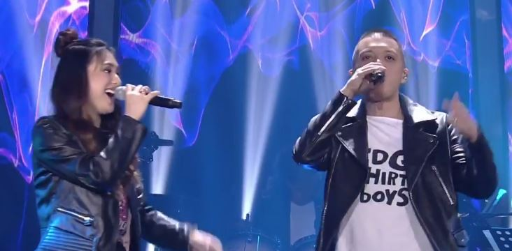 "Coach Bamboo and Isabela sing ""Kapayapaan"" on The Voice Teens Grand Finals"