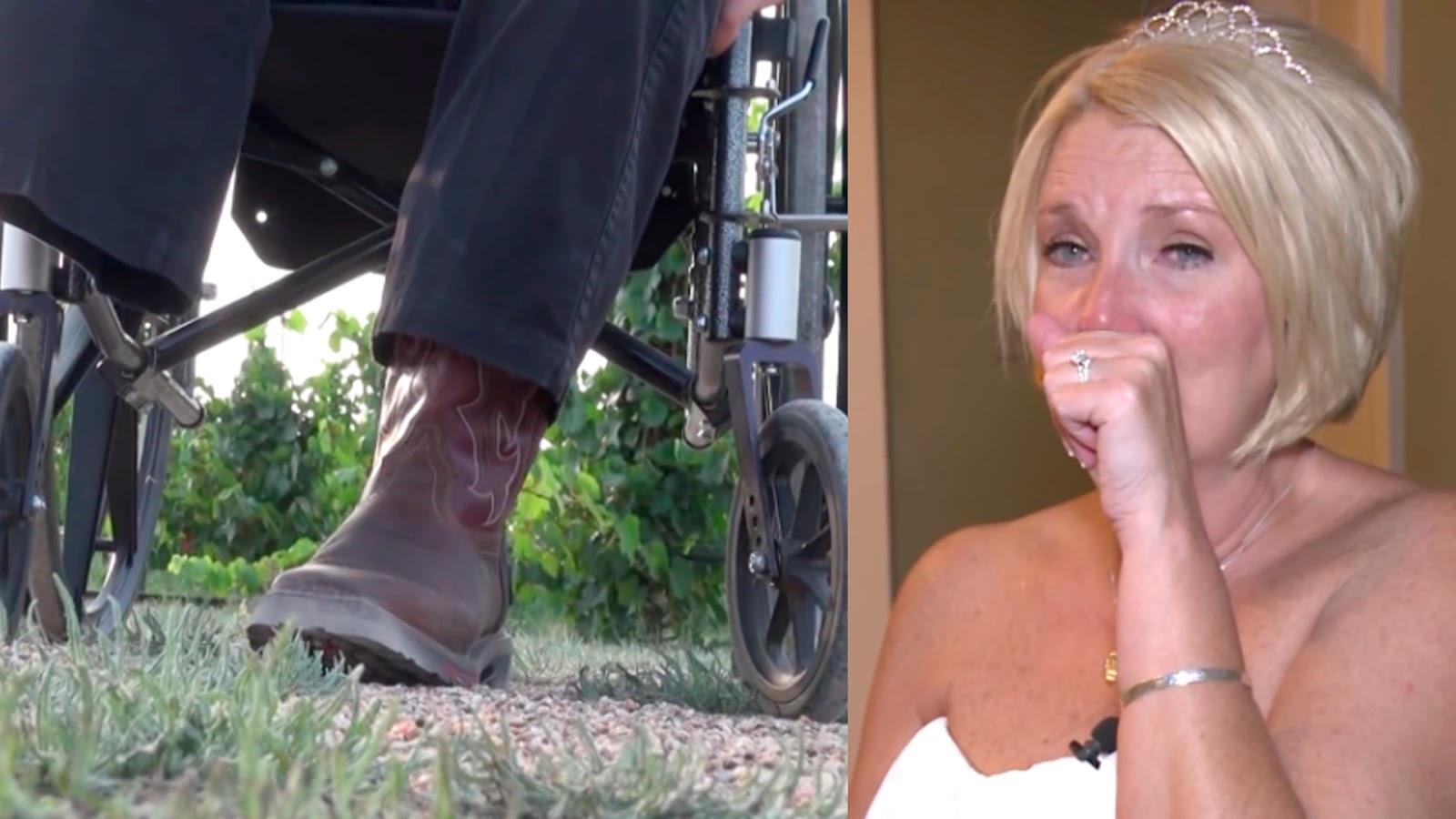 Portal Curió  Esta mulher se casa com um deficiente. Mas durante o ... 9bcd1d02655
