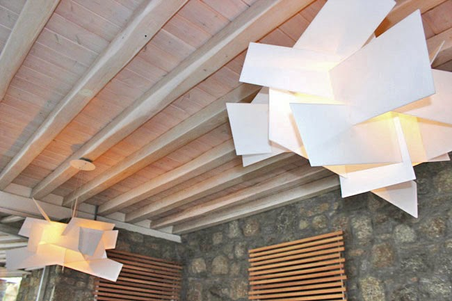 hotel design modern lights