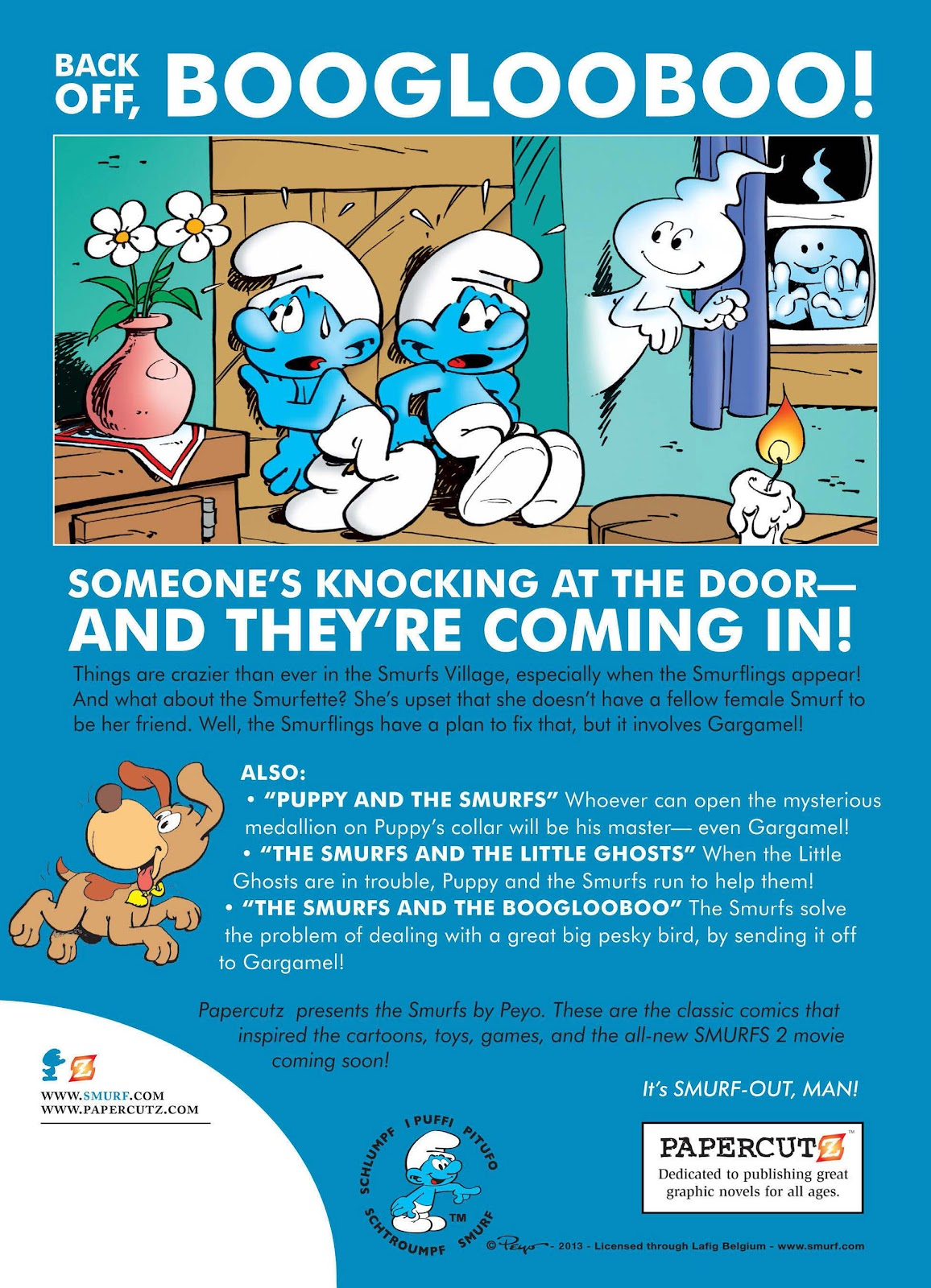 Read online The Smurfs comic -  Issue #15 - 58