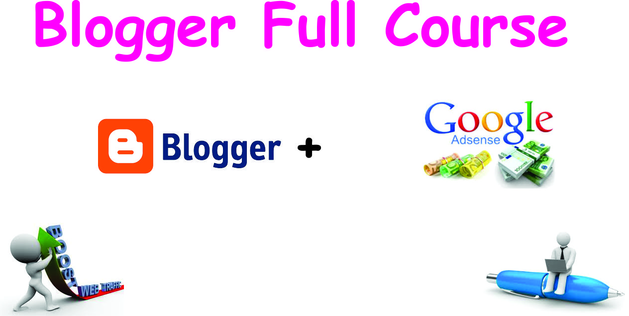blogger course layout