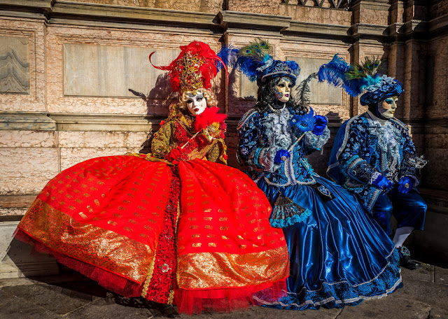 Venice carnival costumes and dresses