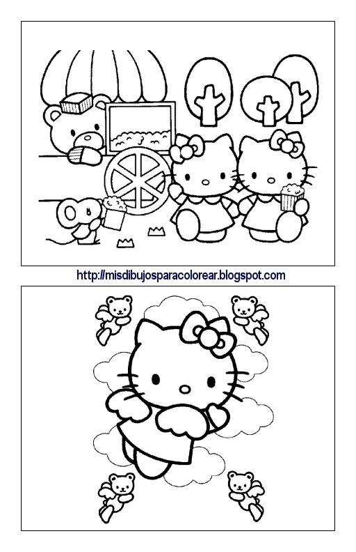 Dibujos De La Hello Kitty Para Ver Agencias De Mercadotecnia