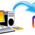 How to Upload Pics From Pc to Instagram