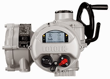 Rotork electric actuator