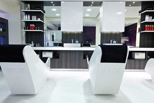 White Salons, For Example, Donu0027t Require Too Bright Lighting And They  Reflect Lighting Too Much.
