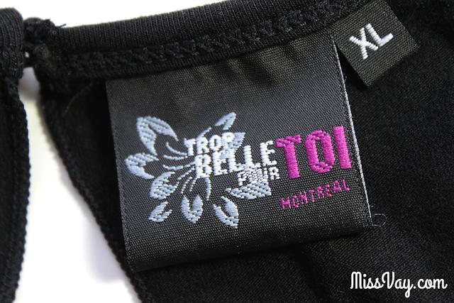 Trop Belle Pour Toi Vêtements Mode Montréal