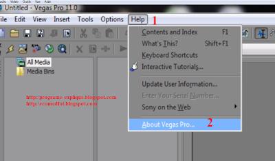 حمل كتاب دورة السوني فيغاس : الدرس الاول : تثبيت و تفعيل برنامج السوني فيغاس برو sony   vegas pro Sony Vegas course: Lesson One: install and activate the Sony Vegas Pro software sony vegas pro