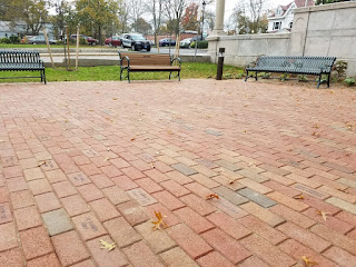 Friends of Franklin Library: Brick Patio