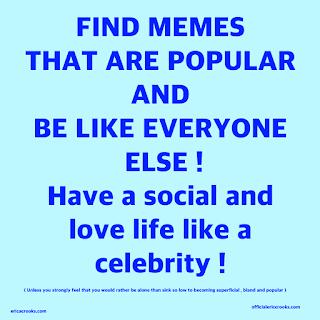 social media popularity conformity satire by Erica Crooks