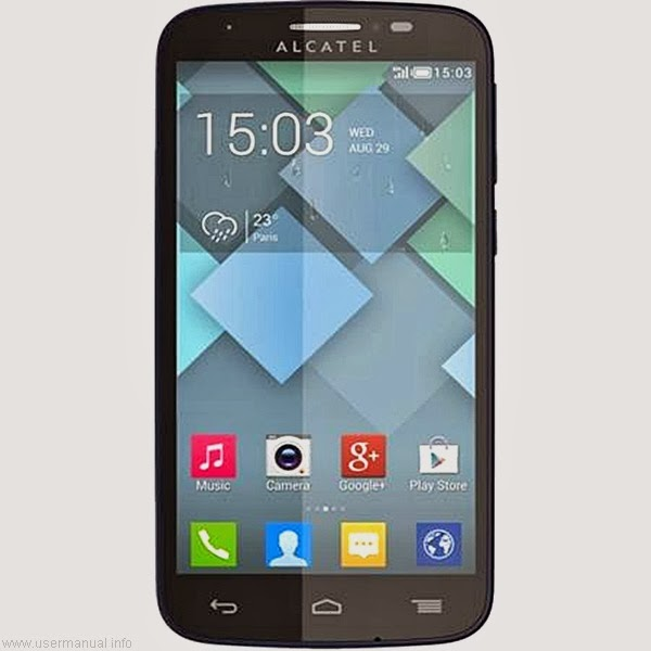 Alcatel one Touch 735 manual