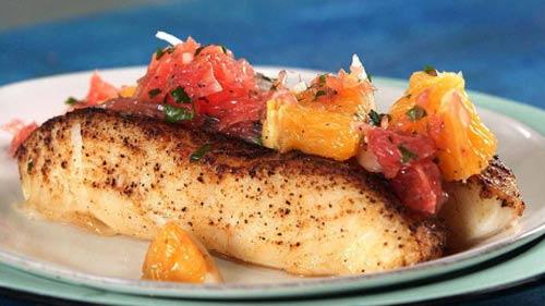 salmon makanan atlit