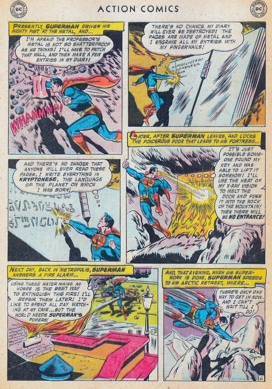 Read online Action Comics (1938) comic -  Issue #241 - 8
