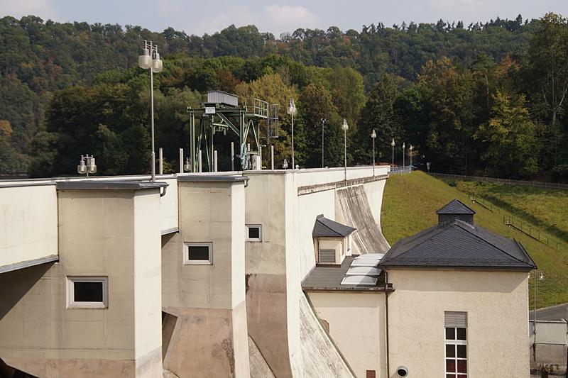 Talsperre Burgkhammer, Burgk, Thüringen