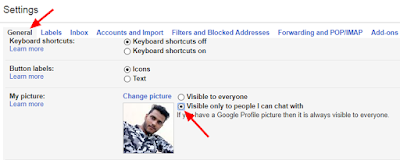 How to Invisible your Profile Picture from Gmail