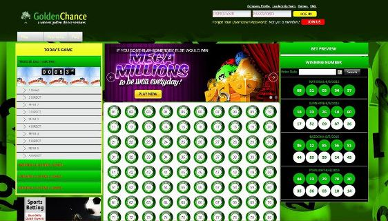 Golden Chance Lotto goes online, gives free bets