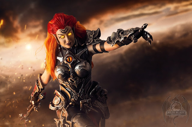 Darksiders Fury official cosplay guide + pattern collection