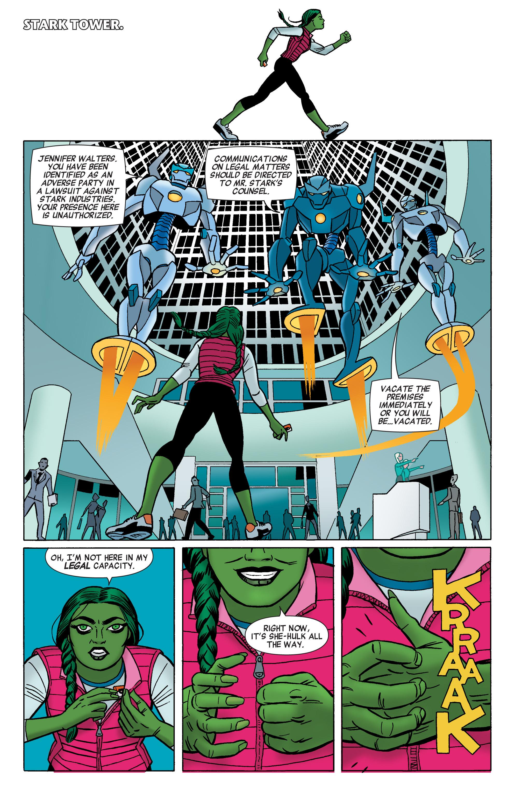 Read online She-Hulk (2014) comic -  Issue #1 - 16