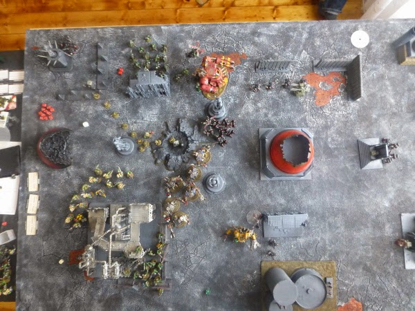 Board overview after Flesh Tearer turn 3