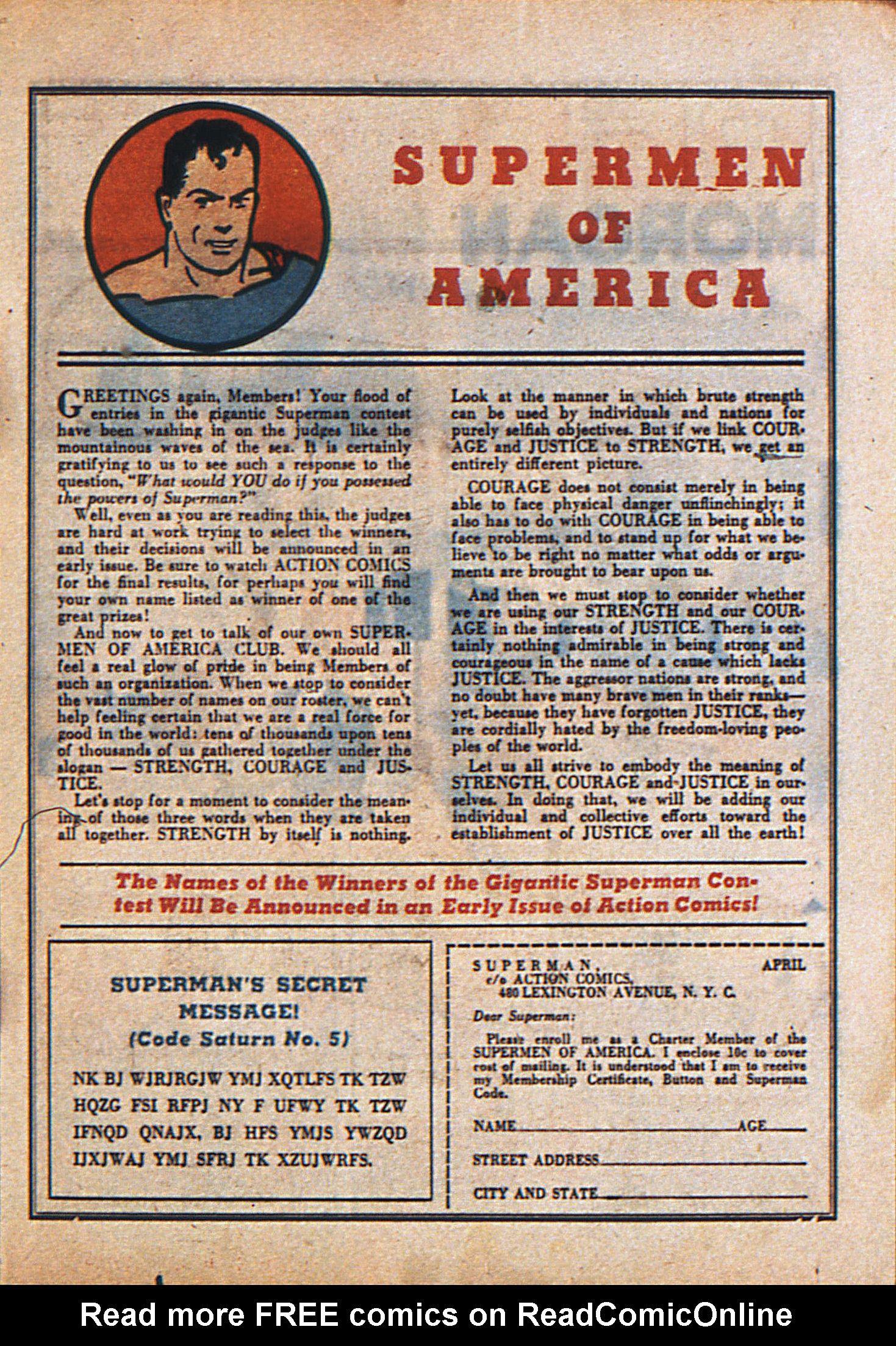Read online Action Comics (1938) comic -  Issue #23 - 18