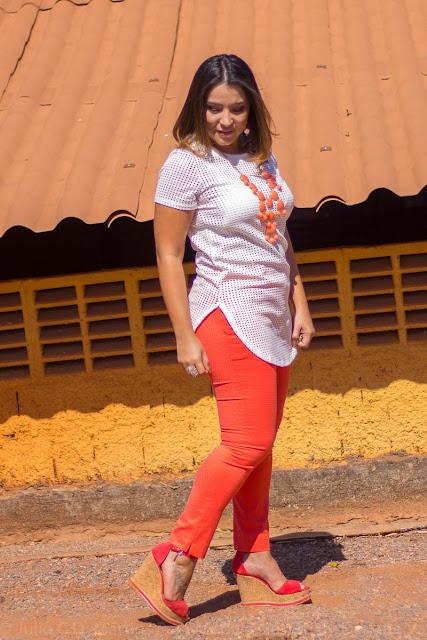 Dicas de como usar a calça laranja