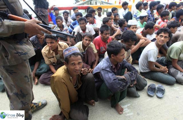Ternyata Israel Pemasok Senjata ke Pemerintah Myanmar Untuk Habisi Etnis Muslim Rohingya