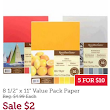Stock up on cardstock!