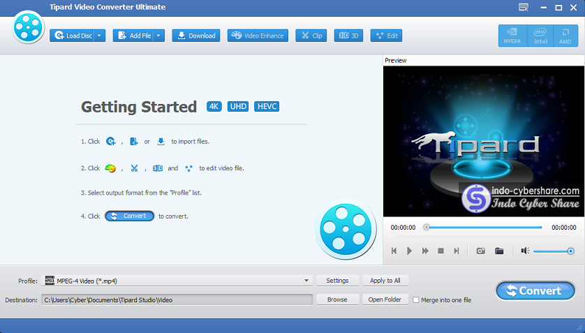 Tipard Video Converter Ultimate download indo cyber share
