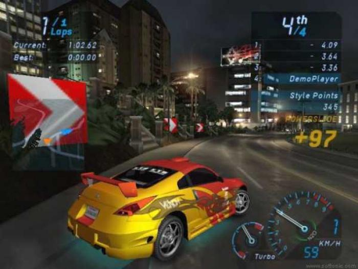 Need For Speed Underground 1 Game System Requirements