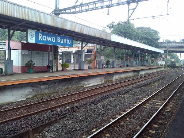 Mencoba Commuter Line Cikini- RawaBuntu (Bumi Serpong Damai)