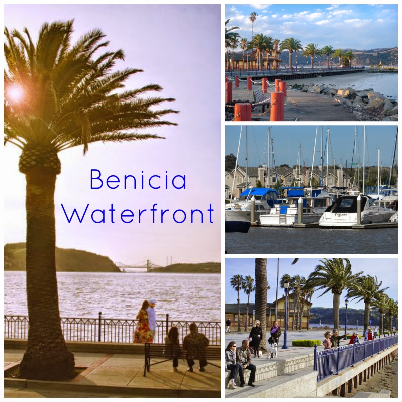 Benicia CA waterfont