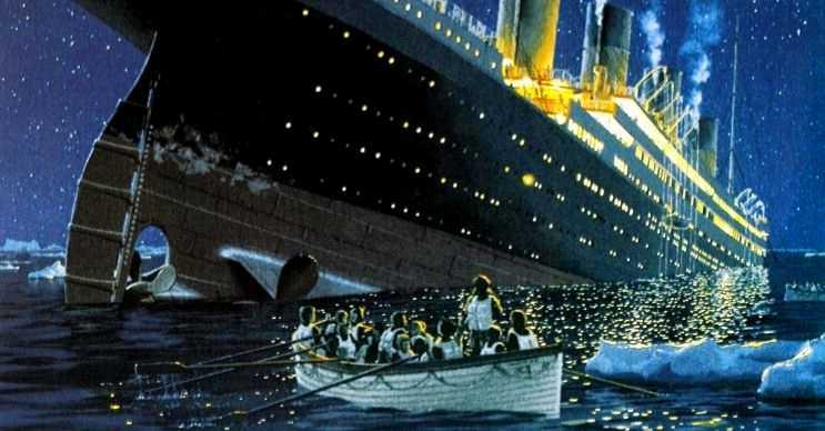 Titaniğin batma anı, filikalardaki yolcularda şok etkisi yaratmıştı.