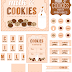 Milk and Cookies Party Free Printable Kit..