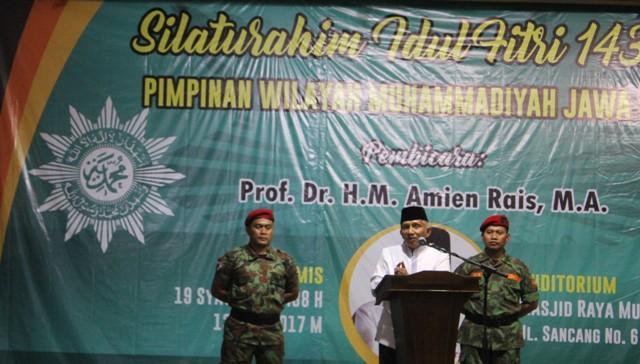 Soal Perppu Pembubaran Ormas, Amien Rais: Target Utamanya Ormas Islam
