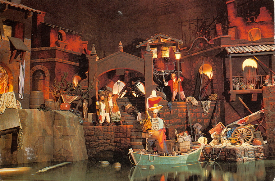 My Favorite Disney Postcards Pirates Of The Caribbean