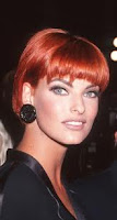 Linda Evangelista, Red Hair