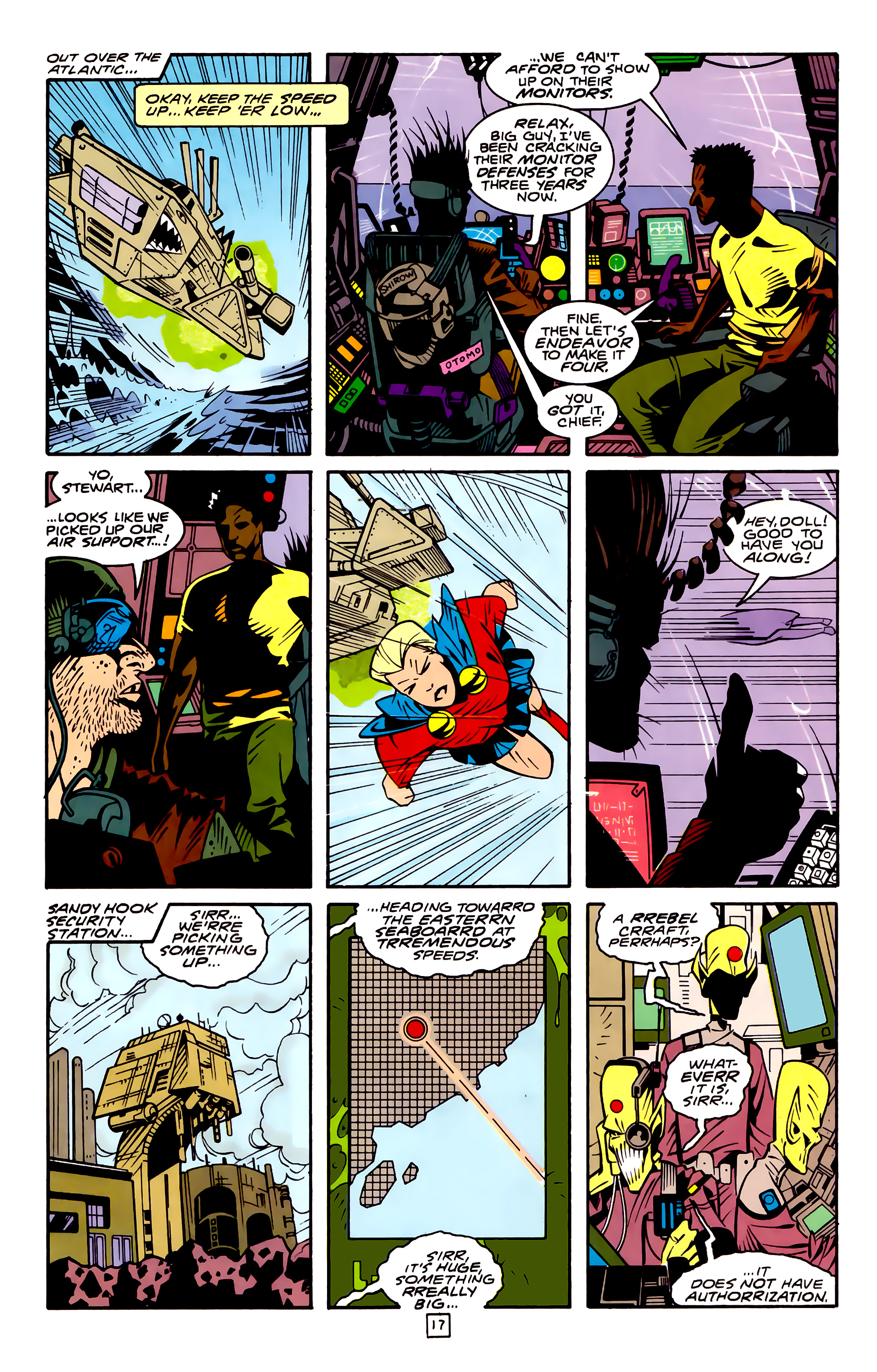 Legion of Super-Heroes (1989) 32 Page 17
