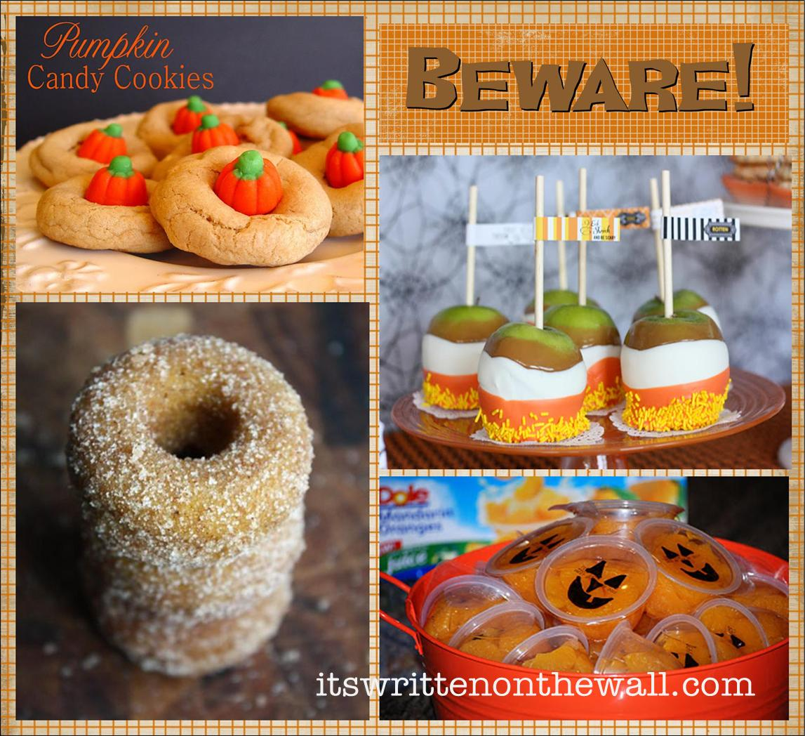 It's Written on the Wall: 25 Halloween Treat/Dessert Ideas for ...