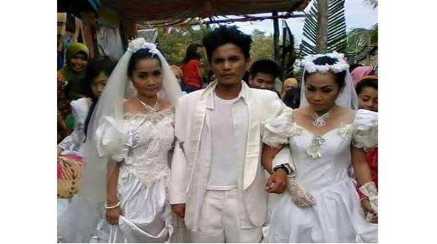 Heboh!! Diperebutkan Wanita, Pria Ini Pilih Nikahi Keduanya Sekaligus!