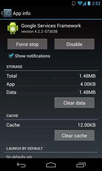 Чистим кеш на планшете Android.