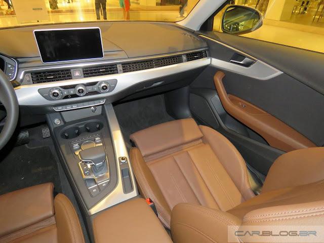 Novo Audi A4 2017 - interior