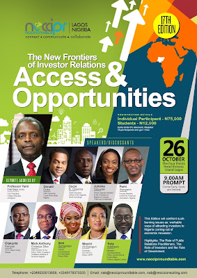 Calling for exhibitors at Necci PR Roundtable 2017 for excellent brand visiblity