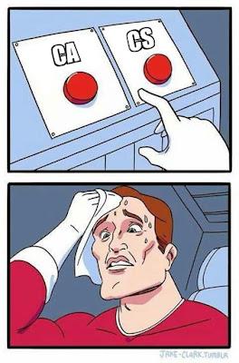 CA vs CS - Commercian Will Understand