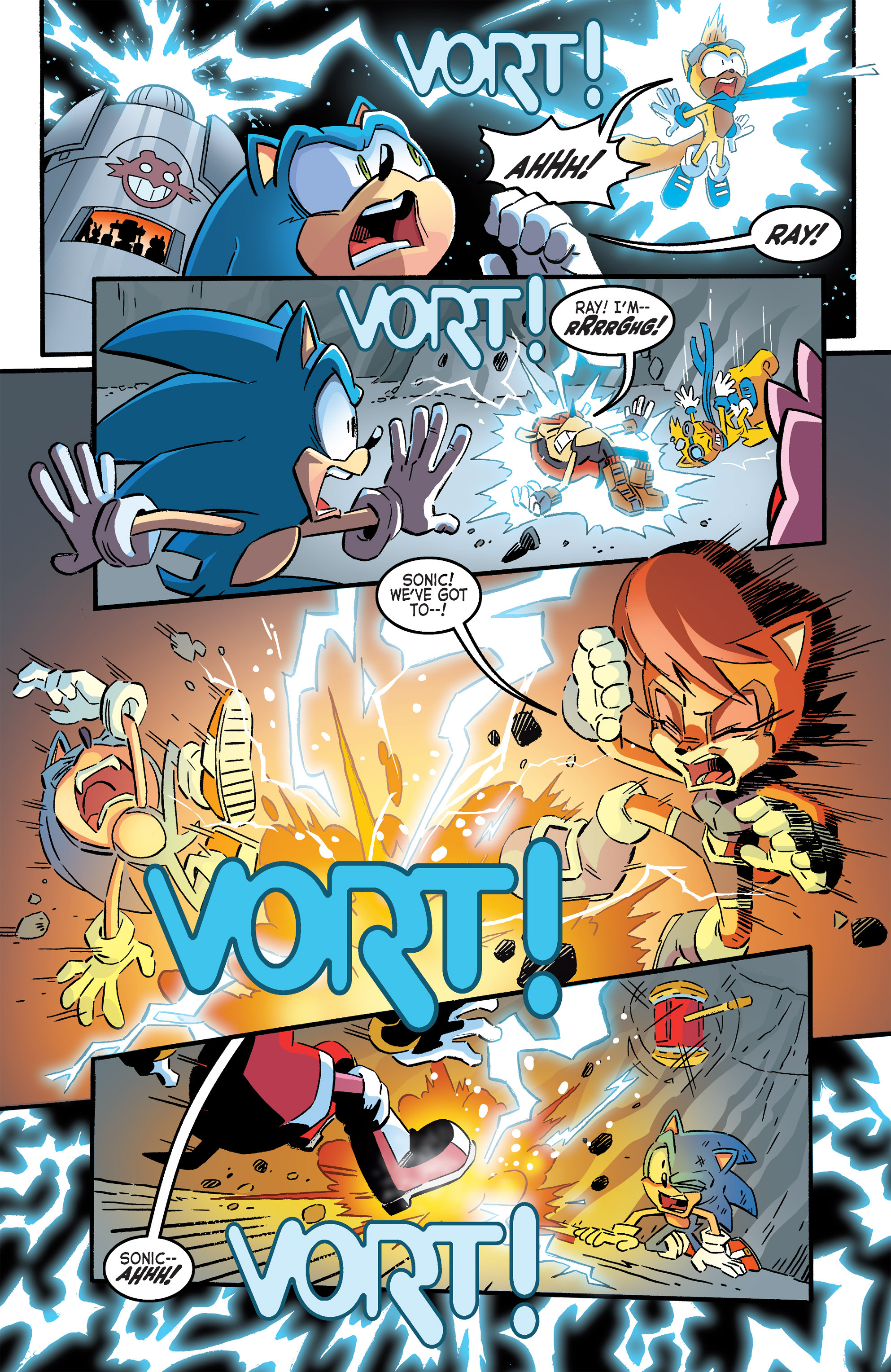 Read online Sonic The Hedgehog comic -  Issue #264 - 15